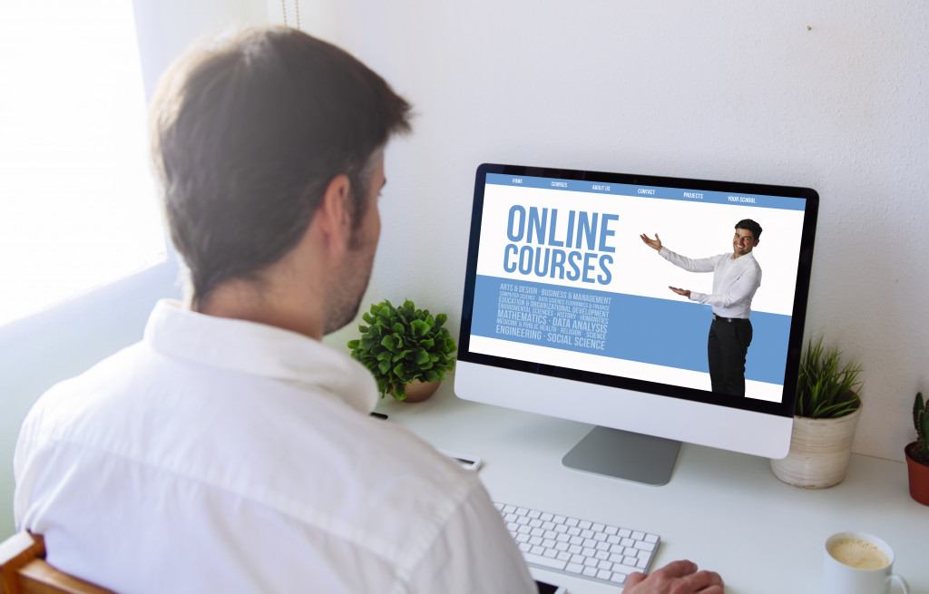 taking online courses