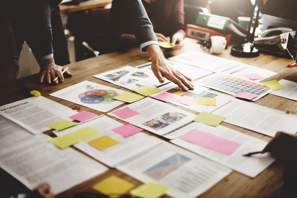 Organization members planning